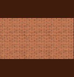 background with brick old wall vector image