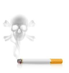 Cigarette goriz vector