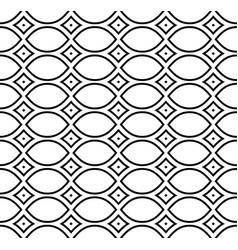 Mesh pattern repeat ornamental texture vector