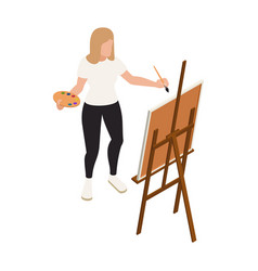 painting isometric icon vector image