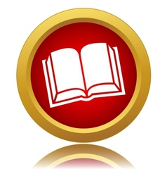 Red book icon vector