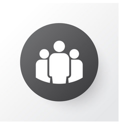 team icon symbol premium quality isolated group vector image