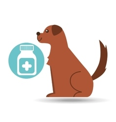 Veterinary clinic concept medicine vector