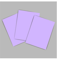 violet paper vector image