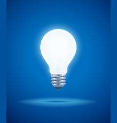 saving power shining electric vector image