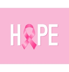 Breast cancer awareness month poster vector