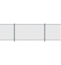 Chain link fence seamless metal wire fence wire vector