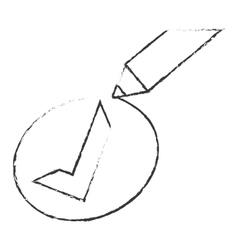 Check mark accept icon image vector