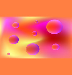 colorful fluidity dynamical background vector image