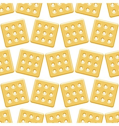 Cookie pattern vector