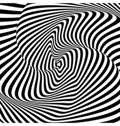 Design monochrome whirl motion background vector