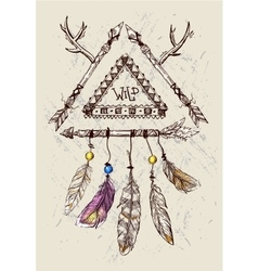 Or dream catcher vector
