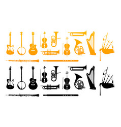 orchestra musical instrument vector image