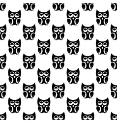 Owl pattern seamless vector