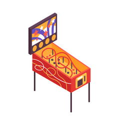 Retro game machine vector
