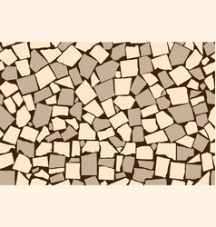 Seamless texture of ivory and grey asymmetric vector