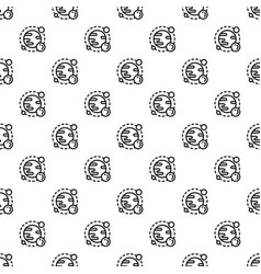 space planet pattern seamless vector image