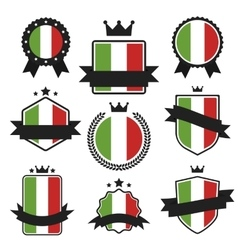World Flags Series Flag of Italy vector image vector image