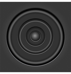 Sound speaker vector image