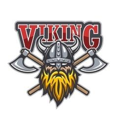 Viking warrior sport logo vector
