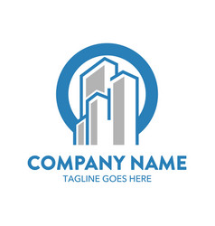Building logo-1 vector