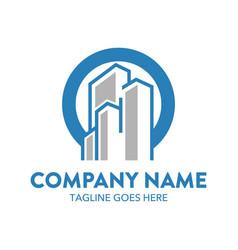 building logo-1 vector image