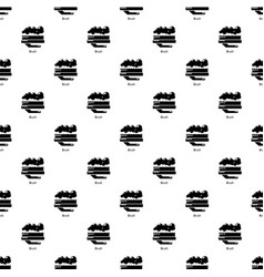 Carpet brush pattern seamless vector