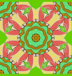 Islam arabic indian ottoman motifs on a colorful vector