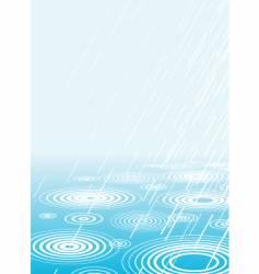 Light rain vector