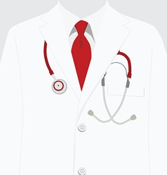 Medical uniform vector