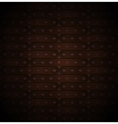 metallic background of long plates vector image
