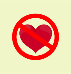 No love stock flat vector