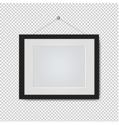 Picture frame isolated transparent background vector