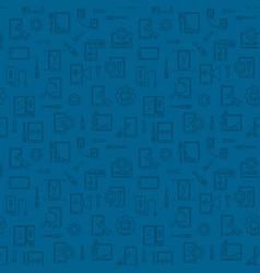 smart phone repair dark seamless pattern vector image
