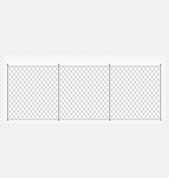 wire mesh fence template vector image