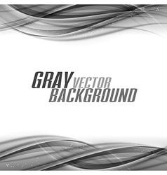 Abstract gray white center vector