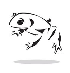 frog 2 vector image