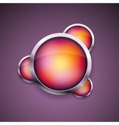 modern icon vector image vector image