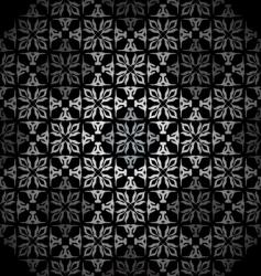 diamond silver wallpaper vector image vector image