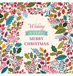 Christmas time vector image