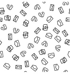cloud internet mail solution seamless pattern vector image