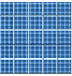 Geometric seamless pattern a grid of squares vector