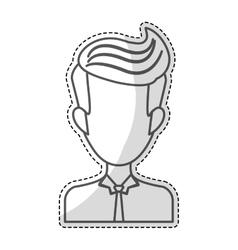 man portrait icon image vector image vector image