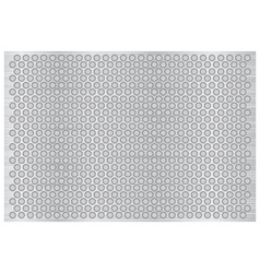 Silver abstract metal background vector