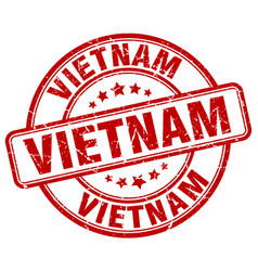 Vietnam stamp vector