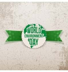 World Environment Day awareness Banner Template vector