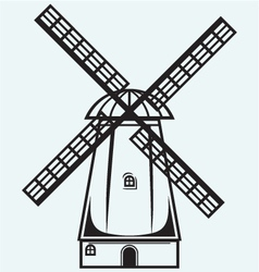 Symbol mill vector image