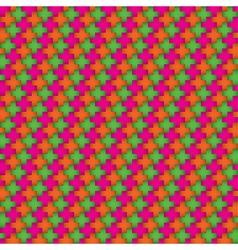 Wallpaper of crosses vector image