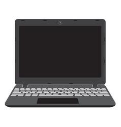 laptop screen notebook vector image