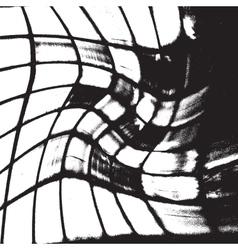Grunge Grid vector image